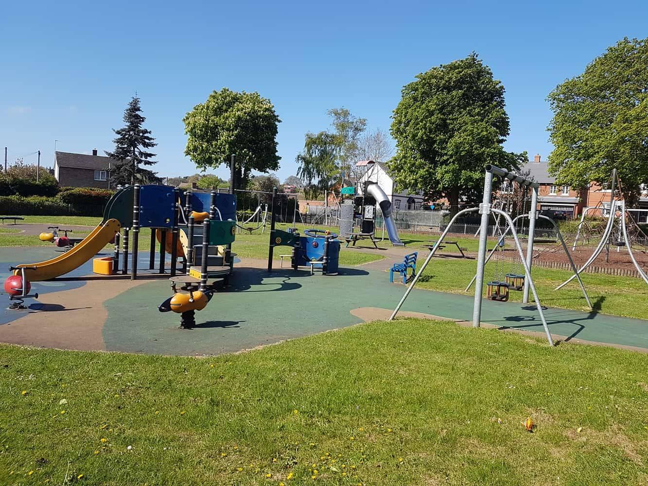 Hood Park play area Closure