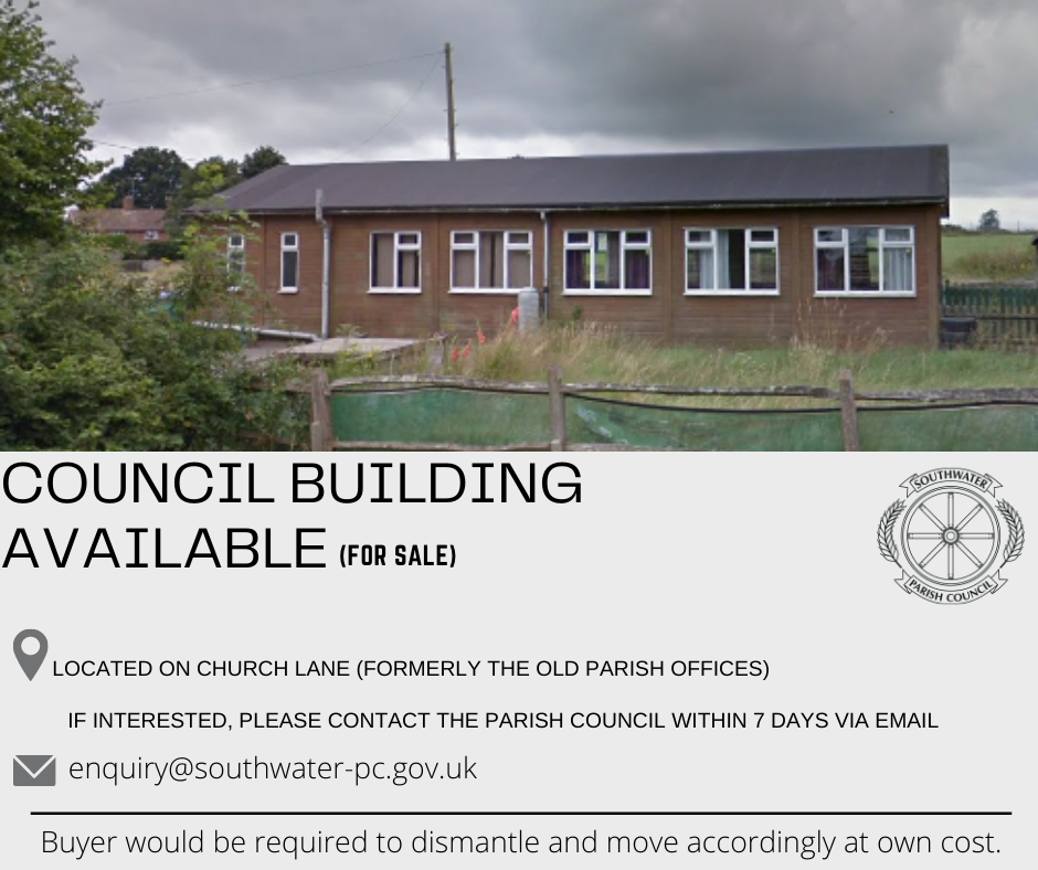Council Building For Sale (Formerly old Parish Council Offices)