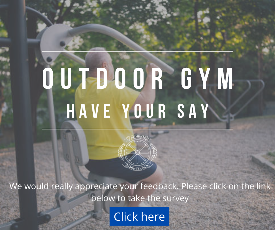 Outdoor gym - please take our survey using the link provided